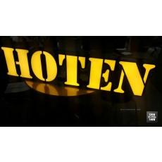[홍대 간판] 모자 전문점 'HOTEN' LED 채널 간판