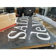[대구 간판] SALON de MAMA 비조명 레이저 채널 간판
