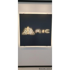 [종로 간판] MIC, 갈바 티타늄 까치발 헤어라인 후광 채널